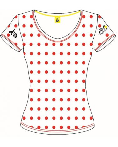 T-shirt Tour de France Logo Pois Femme