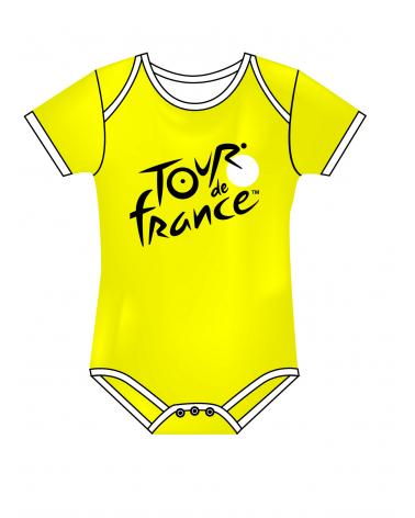 Tour de France Yellow Body Baby