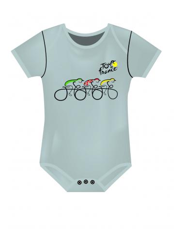 Tour de France Graphic Baby Body