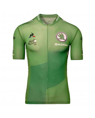"""Maillot Vert Cyclisme Le Coq Sportif Tour de France Meilleur """"Sprinteur"""" 2020"""