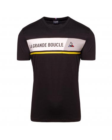 T-shirt Tour de France Le Coq Sportif La Grande Boucle 2020 Noir