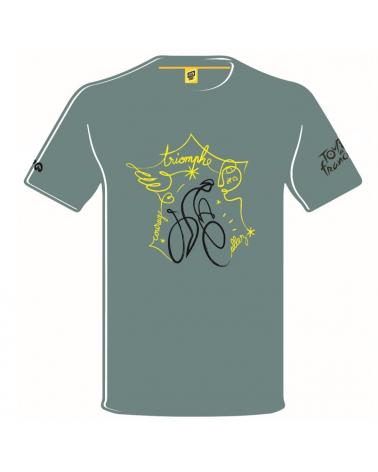 T-shirt Tour de France Affiche 2020