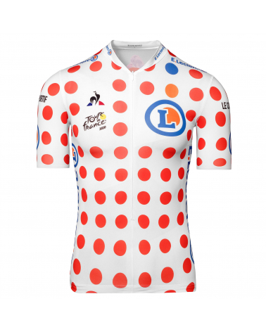 """Maillot Cyclisme Le Coq Sportif Tour de France Maillot à pois """"Grimpeur"""" 2020 Enfant"""