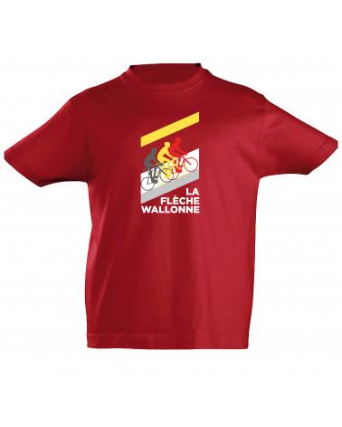 T-Shirt Flèche Wallonne Mur Enfant