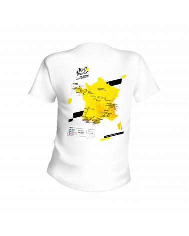 """Tour de France """"Map Parcours 2021"""" T-shirt"""