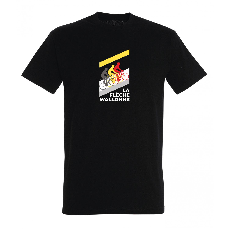 T-shirt Flèche Wallonne Mur Homme