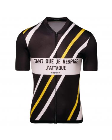 Le Coq Sportif Tour de France Bernard Hinault Cycling Jersey