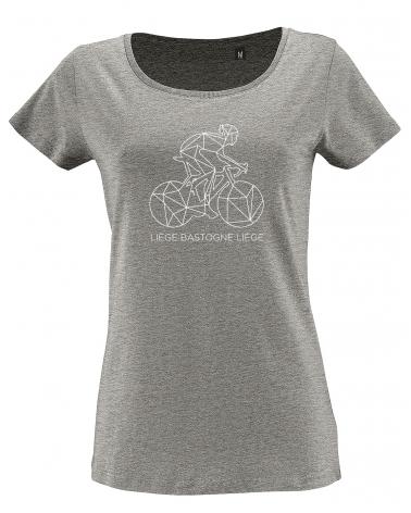 T-shirt Liège Bastogne Liège Décalqué Femme