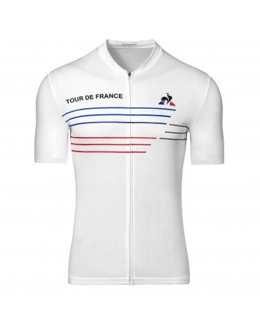Tour de France Bleu Blanc Rouge Performance Cycling Jersey