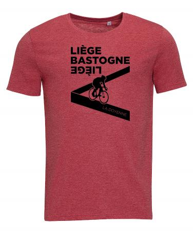T-shirt Liège Bastogne Liège Dérailleur Homme