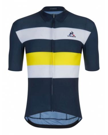 Tour de France Le Coq Sportif Classic n°2 Blue Navy Cycling Jersey