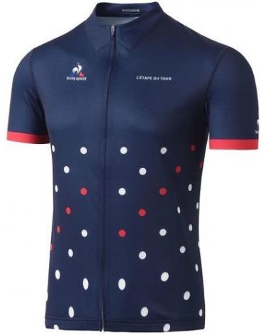 """Tour de France Le Coq Sportif """"Etape du Tour"""" Navy Blue Cycling Jersey"""