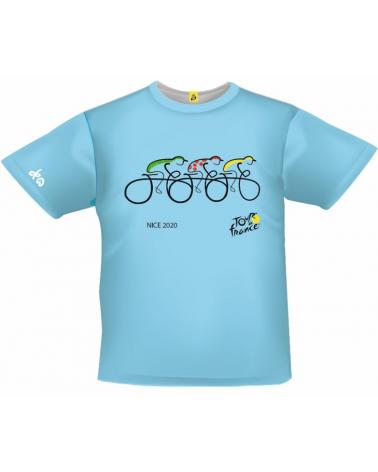T-shirt Tour de France Nice Bleu Enfant