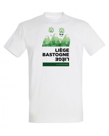T-shirt Liège Bastogne Liège Etape Homme