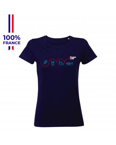 """T-shirt Mondial du Lion """" L'Obstacle """" Femme"""