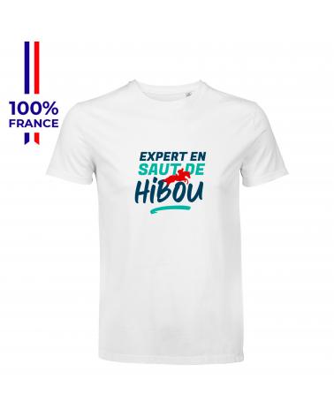 """T-shirt Mondial du Lion """" L'Expert en Saut """" Homme"""