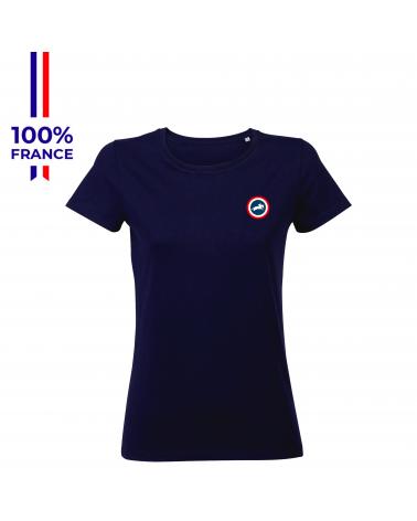 "T-shirt Mondial du Lion "" Frenchie "" Femme"