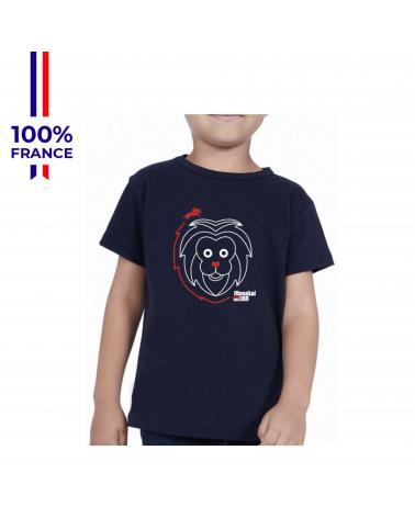 """T-shirt Mondial du Lion """" P'tit Lion"""" Enfant"""