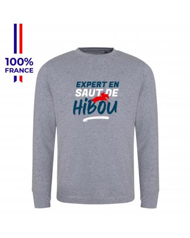 """Sweat Mondial du Lion """"L'expert en Saut de Hibou"""""""