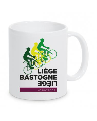 Mug Liège Bastogne Liège Plein 3 Vélo