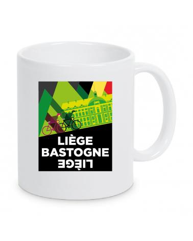 Mug Liège Bastogne Liège Plein Affiche