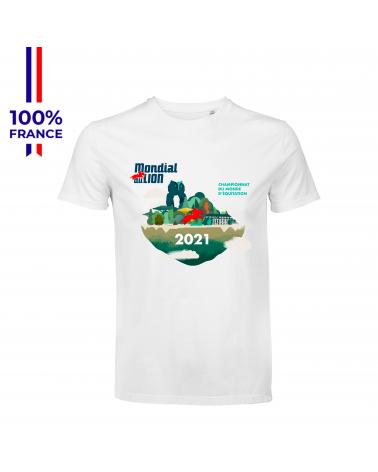 """T-shirt Mondial du Lion """" L'Affiche 2021 """" Mixte"""