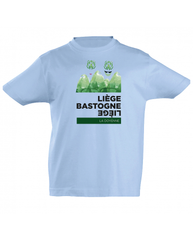 T-shirt Liège Bastogne Liège Héro Enfant