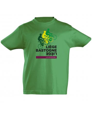 T-shirt Liège Bastogne Liège Scotché Enfant