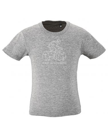 T-shirt Tour de Yorkshire Décalqué Enfant
