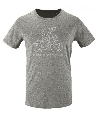 T-shirt Tour de Yorkshire Décalqué Homme