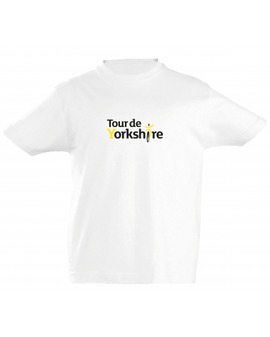 T-shirt Tour de Yorkshire Scotché Enfant