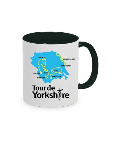 Mug Tour de Yorkshire Plein Noir
