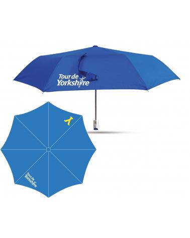 Parapluie Tour de Yorkshire Abri Bleu