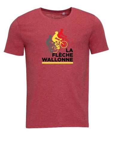T-shirt Flèche Wallonne Dérailleur Homme