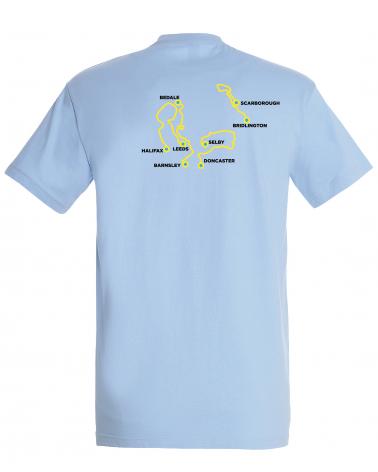 T-shirt Tour de Yorkshire Parcours Homme