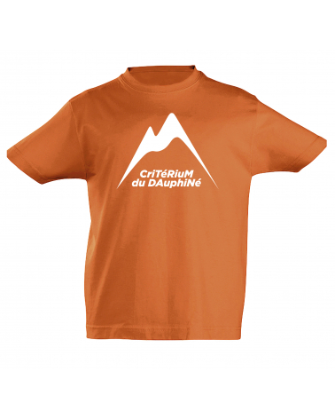 T-shirt Critérium du Dauphiné Scotché Enfant
