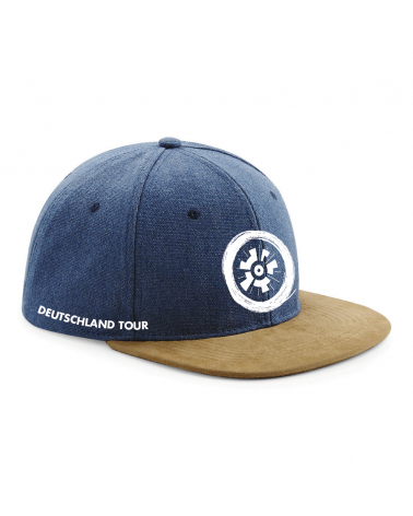Cap Deutschland Tour Panel Bleu
