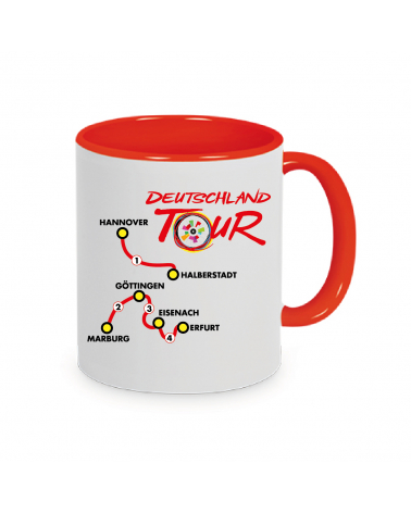 Mug Deutschland Tour Plein Red