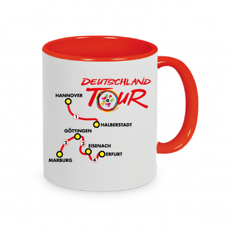 Mug Deutschland Tour Plein Red