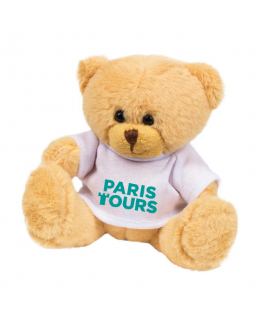 Peluche Paris Tours Ourson Logo