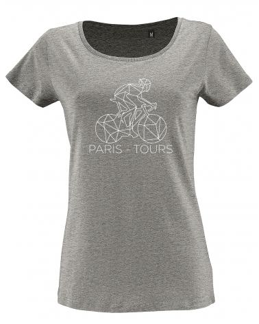 T-shirt Paris-Tours Décalqué Femme