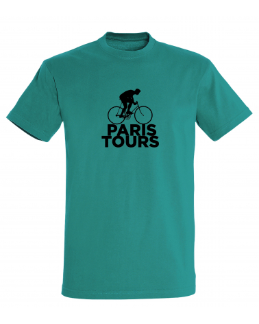 T-shirt Paris-Tours Scotché Homme