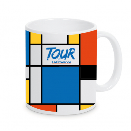 Mug Tour de la Provence Plein Multicolor