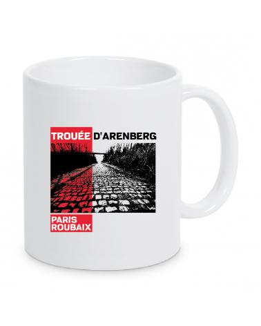Mug Paris Roubaix Plein Blanc Trouée