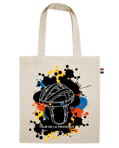 "Tote Bag Tour de la Provence ""Musette Splash"""