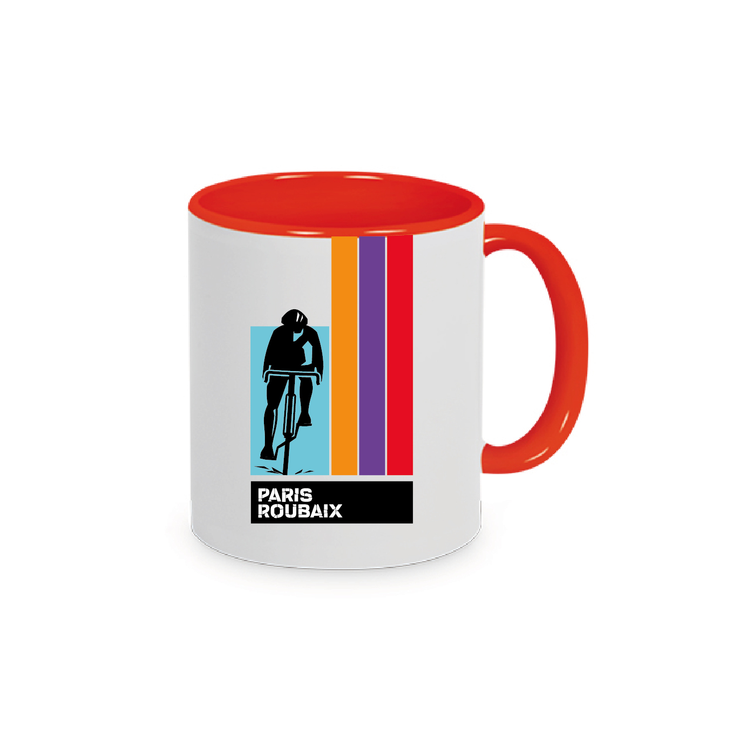 Mug Paris Roubaix Plein Orange