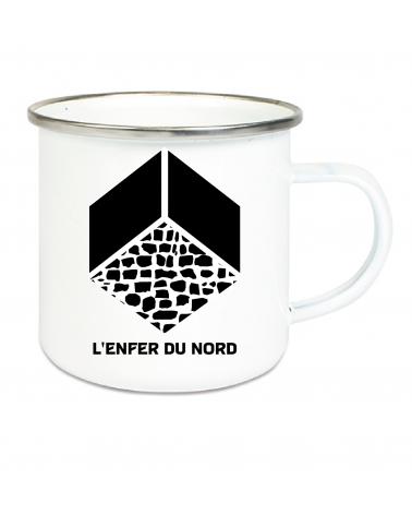 Mug Paris Roubaix Popote Blanc