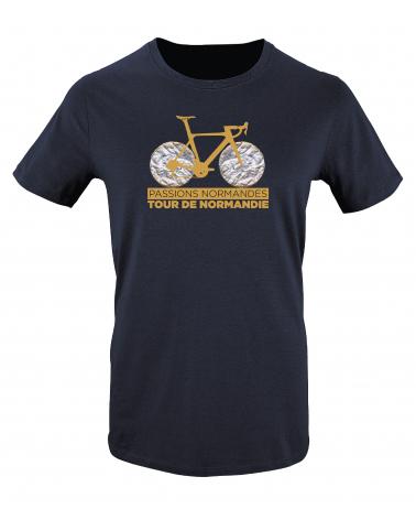 T-shirt Tour de Normandie Claquos Homme