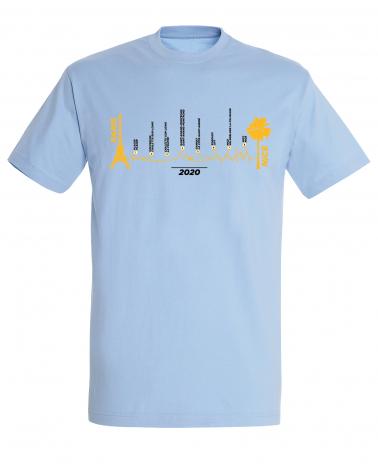 T-shirt Paris Nice Parcours 2020