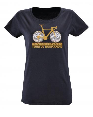 T-shirt Tour de Normandie Claquos Femme